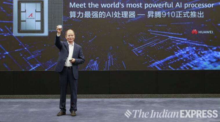 Huawei Launches AI Processor Amid U.S.-China Tensions