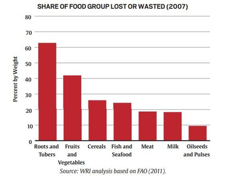 Telling Numbers: The food we waste, and what it costs the global economy