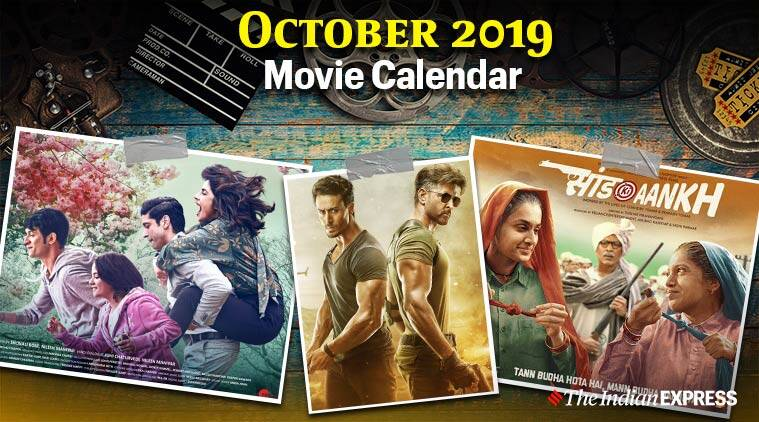 movies in october 2019