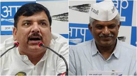 AAP appoints Sanjay Singh in-charge for Delhi asembly polls, Pankaj Gupta takes charge of Campaign Director