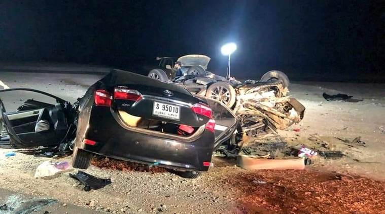 Indian couple, child killed in road accident in Oman
