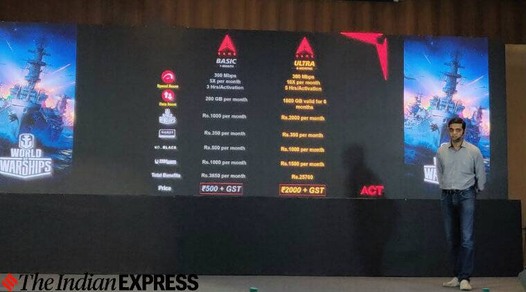 ACT Fibernet, ACT Gaming Booster, World of Warships, Act Fibernet Gaming Booster pack, ACT Fibernet World of Warships
