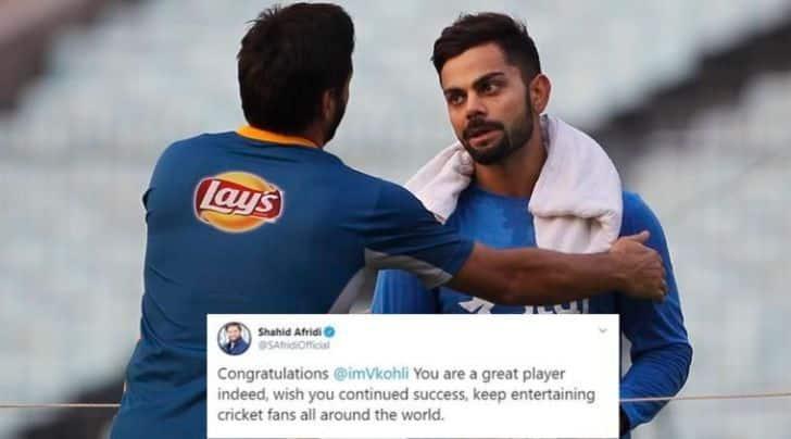 Shahid Afridi hails Virat Kohli, urges him to keep entertaining fans all around the world