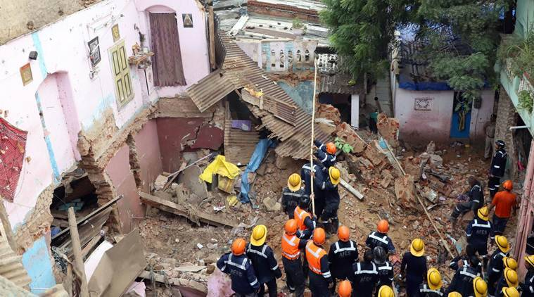 Building collapses in Ahmedabad; 3 killed