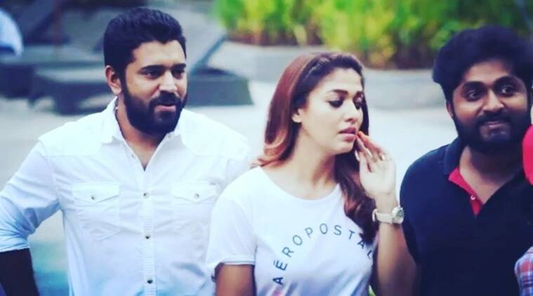 Nayanthara teaches Love Action Drama co-stars Nivin Pauly and Aju Varghese to pose like a boss