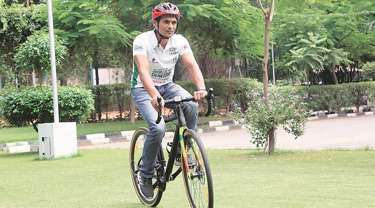 With hills nearby, Chandigarh provides ideal platform for training: Cyclist Amit Samarth