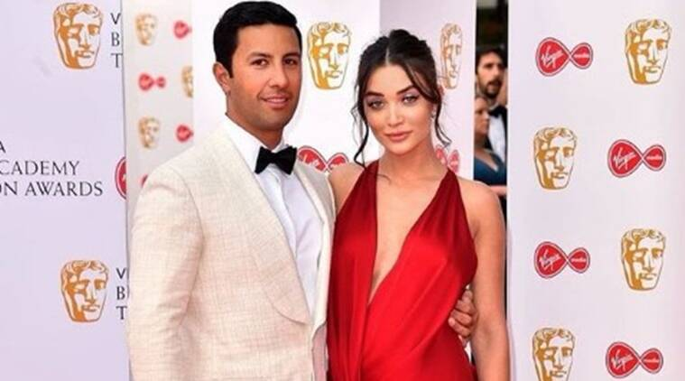 amy jackson with fiance George Panayiotou