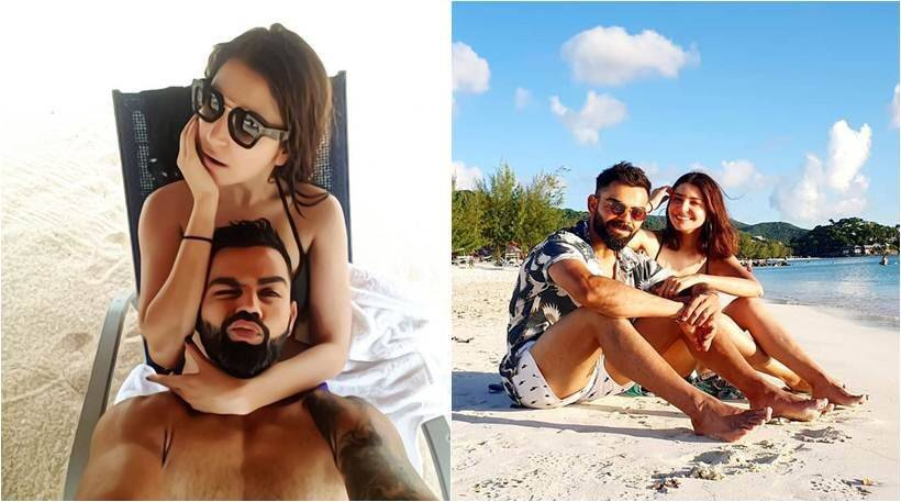 virat kohli, anushka sharma photos