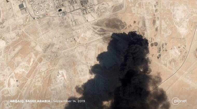 Saudi oil attack photos implicate Iran, US says; Trump hints at military action