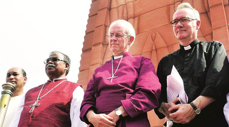rev justin welby, rev justin welby visits india church, rev justin welby india visit, Jallianwala Bagh massacre, Punjab Jallianwala Bagh massacre, Punjab news, Justin Welby, Archbishop of Canterbury, Archbishop of Canterbury india tour
