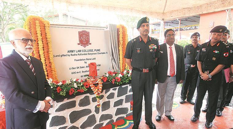 Southern Army Commander lays foundation stone of second phase of Army Law College