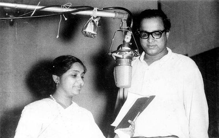 Asha Bhosle, Asha Bhosle at 86, Asha Bhosle songs, happy birthday Asha Bhosle, indianexpress.com, indianexpress, Lata Mangeshkar,