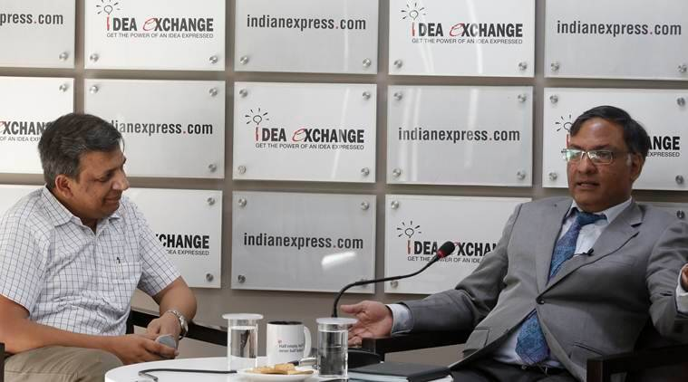 Ashutosh Sharma Idea Exchange, Ashutosh Sharma Science Technology department, india Science Technology department, indian education system, indian express idea exchange