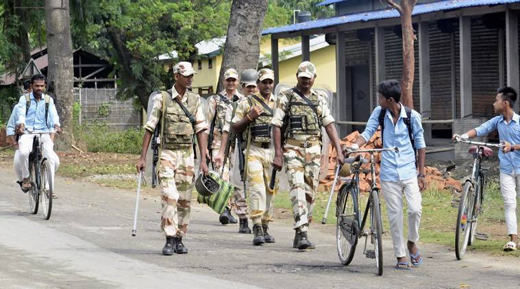 Assam NRC: 10,000 paramilitary troops deployed before release of list withdrawn