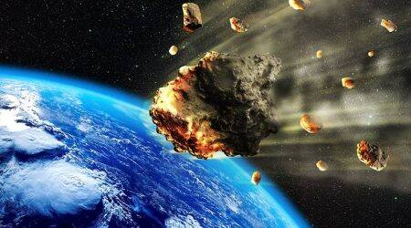 giant asteroid dust cloud sparked explosion in early earth life, asteroid dust cloud, asteroid got smashed into pieces following a collision, earth ice age, low temperatures during earth ice age