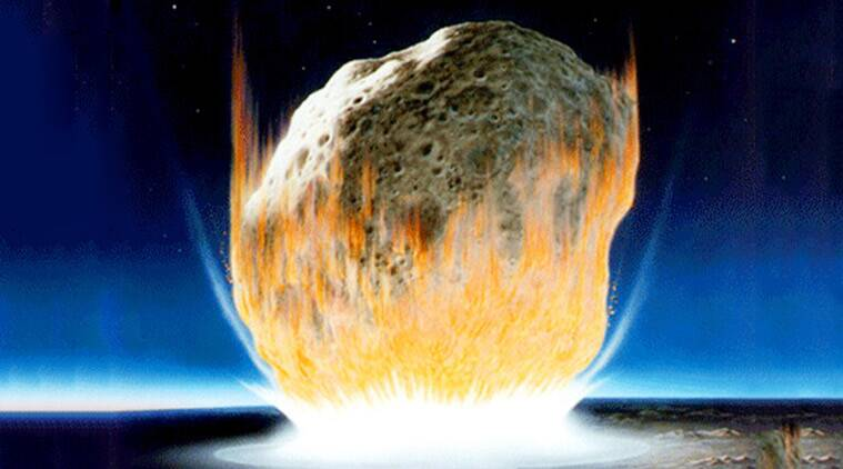 Asteroid more powerful than 10 billion WWII atomic bombs may have wiped out dinosaurs - The Indian Express thumbnail