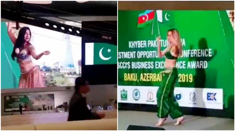 pakistan Belly dancers woo investors viral video, pakistan belly dancers viral video, belly dancers investment conference,
