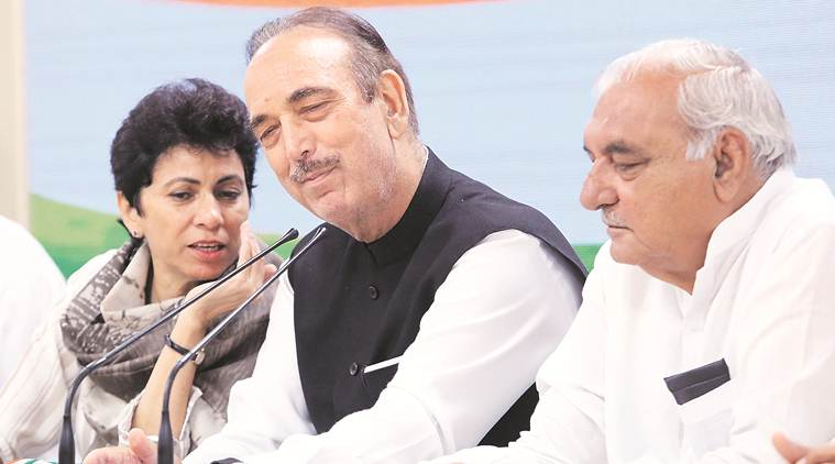 Haryana assembly elections, Haryana PCC chief Kumari Selja, Bhupinder Singh Hooda, haryana elections, elections in haryana, Manohar Lal khattar, Haryana Congres, Indian Express