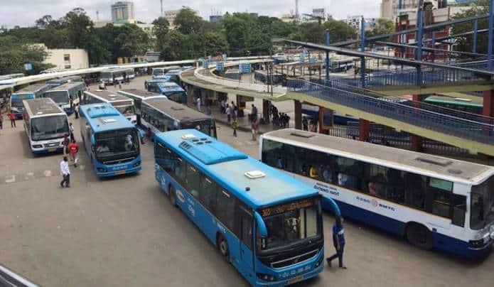 Bangalore-BMTC-Bengaluru-buses-bus-public-transport-Majestic-station