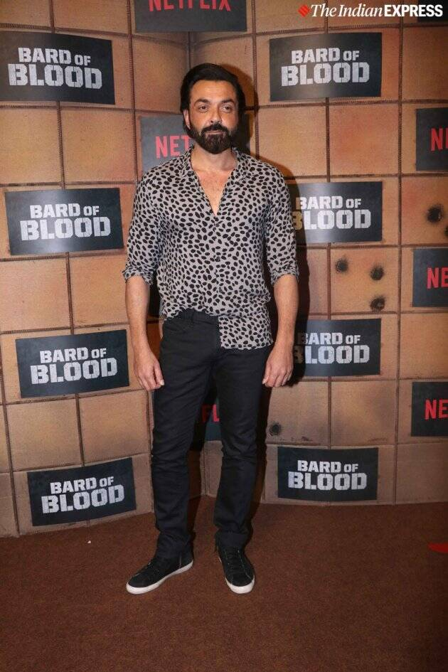 bobby deol at vard of blood screening