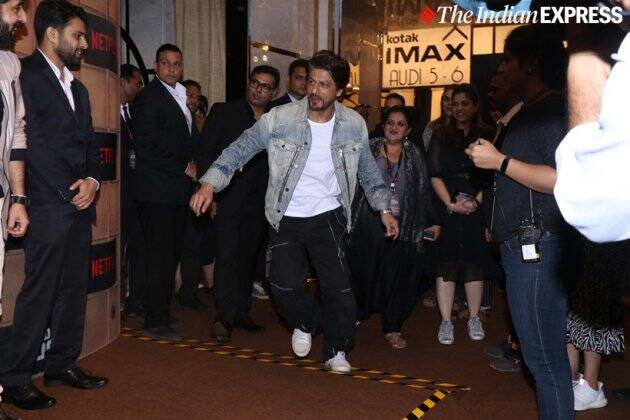shah rukh khan at bard of blood screening