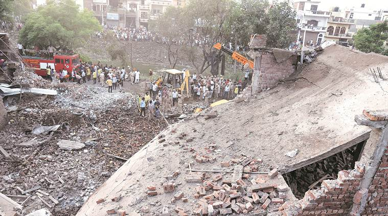 Batala blast: Presumed dead, factory owner's kin found alive and absconding, booked