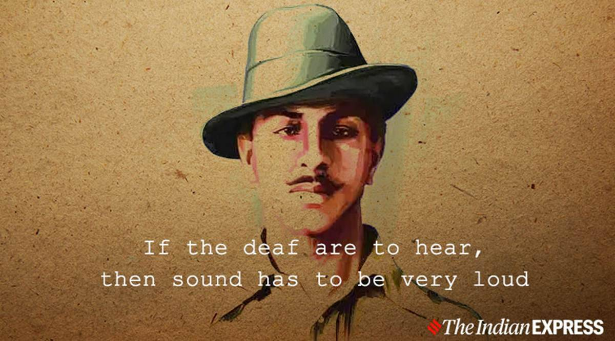 Bhagat Singh Quotes Images Status Photos Wallpapers Pics Speech Shaheed Bhagat Singh Jayanti Birthday Quotes Images Wallpapers Shayari Pictures Pics