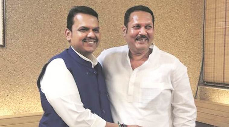 Satara MP Udayanraje Bhosale joins BJP, Pune NCP BJP MPs quit party, maharashtra assembly elections, india news, Indian Express