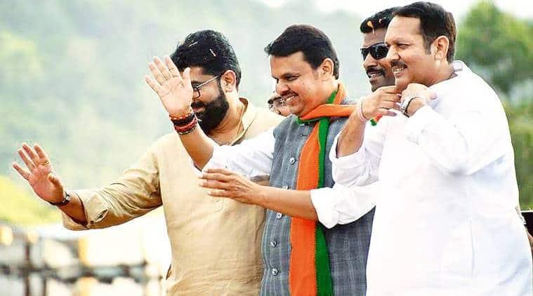 Udayanraje Bhosale slams NCP and praises Fadnavis