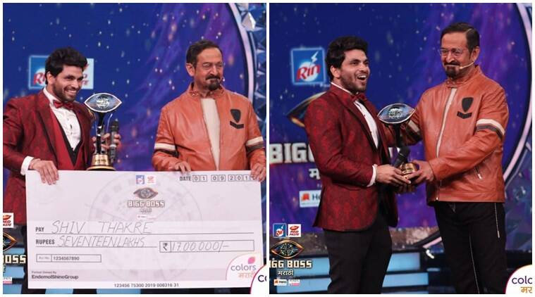 Shiv Thakare lifts Bigg Boss Marathi 2 trophy