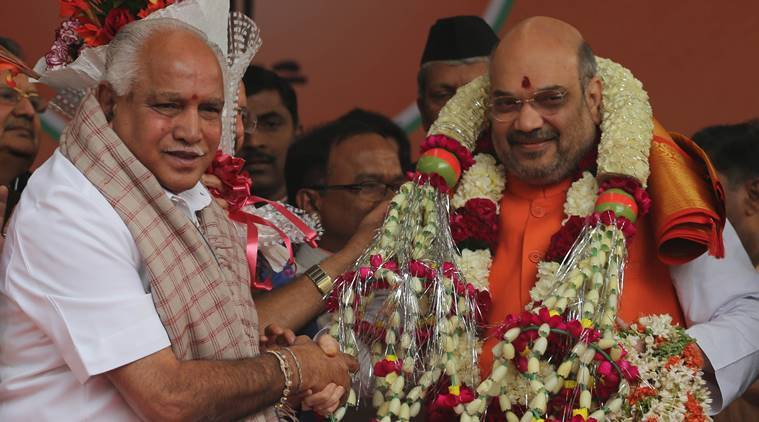 Yediyurappa, Yediyurappa on hindi language, Yediyurappa on kannada language, amit shah on hindi language, hindi language row