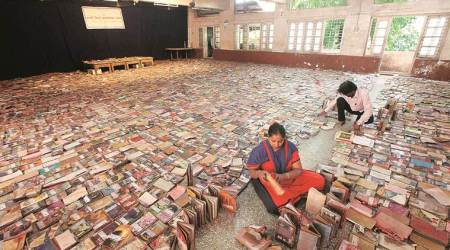 Damaged by floods in Sangli, library's mission to save 75,000 books: Staff, students, 6 hair dryers