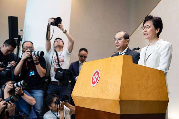 Hong Kong won't concede to more protester demands, top adviser says