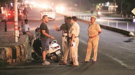 Traffic challans, Virtual court for traffic challans, Noida news, Noida police, UP, Indian express