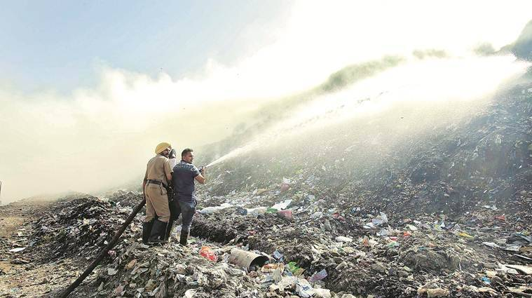 Rs 34 crore to be spent on clearing mountain of waste at Chandigarh dump
