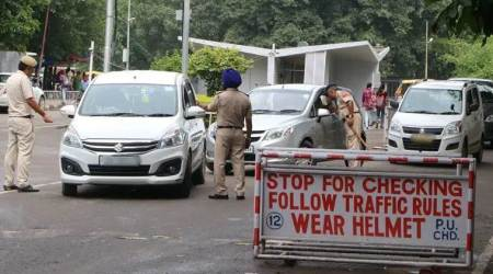 Chandigarh: 485 motorists challaned for stopping vehicles on 3 main roads since Feb 1