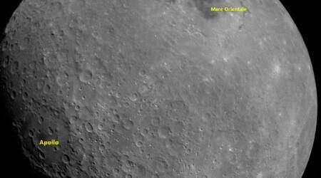 chandrayaan 2, photos taken by chandrayaan 2, chandrayaan 2 journey in photos, images clicked by chandrayaan 2, pictures taken by chandrayaan 2, chandrayaan 2 in space, chandrayaan 2 moon pictures, chandrayaan 2 lunar images