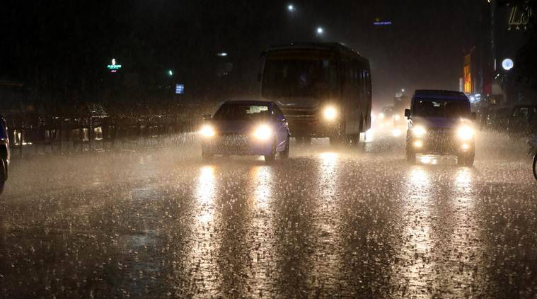 Relief for parched city as rains lash Chennai