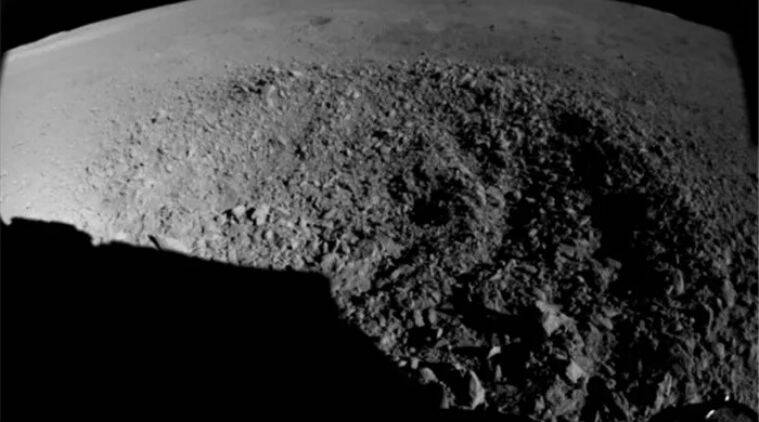 china yutu 2 moon rover, cnsa yutu 2 moon rover, yutu 2 rover finds strange substance on moon crater, yutu 2 rover finds gel like substance on lunar crater