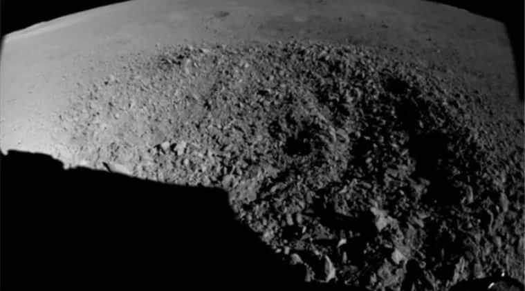 china yutu 2 moon rover, cnsa yutu 2 moon rover, yutu 2 rover finds strange substance on moon crater, yutu 2 rover finds gel like substance on lunar crater