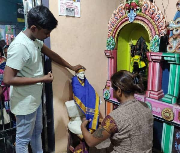 Ravi Amma, Chennai temple, Transgender priestess