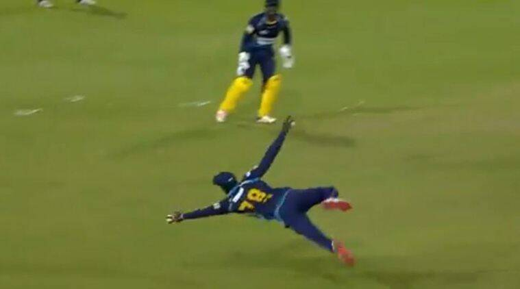 Watch: Jonathan Carter's 'freakish' catch to dismiss Daren Sammy leaves everyone stunned