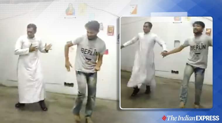 kudukku song, Love Action Drama song, kudukku song videos, father dances to kudukku song, viral videos, indian express