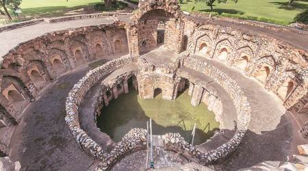 delhi, delhi heritage, book on delhi heritage, Vikramjit Singh Rooprai, baolis of Delhi, delhi baolis