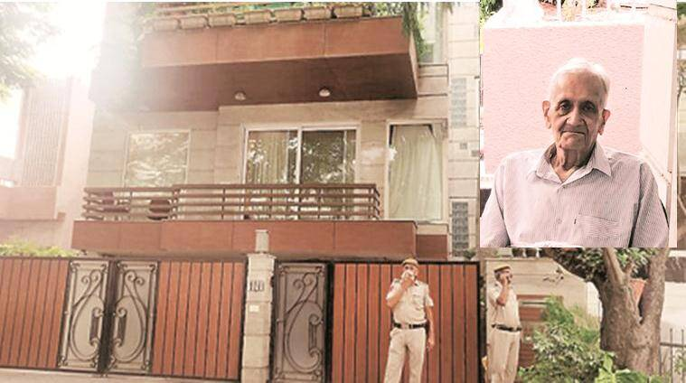 South Delhi – 5 arrested for kidnapping and killing 91 years men.
