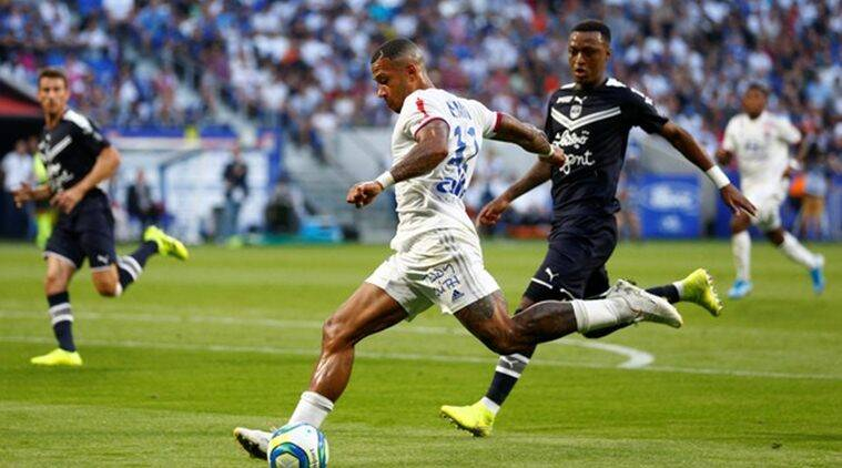 Ligue 1: Lyon miss chance to go top after draw against Bordeaux