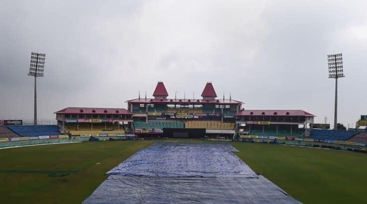 IND vs SA : धर्मशाला में शुरू हुई बारिश, टाॅस में देरी