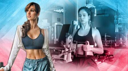 Deadlift, standing cable pullover, high cable crunch, indianexpress.com, disha patani, disha patani fitness video, disha patani pullover cable, close-grip front lat pull down, seated cable row over, indianexpress, back workouts, latissimus dorsi