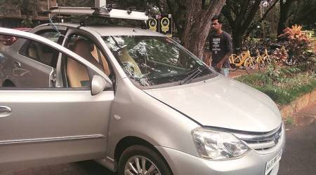 self-driving cars, driverless cars, driverless cars in india, Bangalore driverless cars, IISc driverless cars, what are driverless cars, future of driverless cars, indian express, latest news