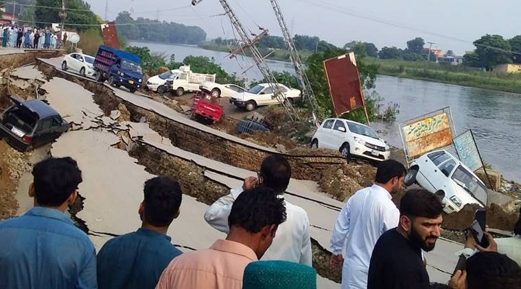 earthquake in mirpur, earthquake in pakistan, pakistan earthquake death toll, pakistan earthquake centre, pakistan earthquake news